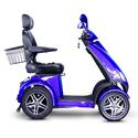 4 Wheel Heavy Duty Scooter, Blue