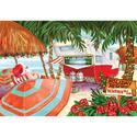 Christmas Cards, Beach Scene