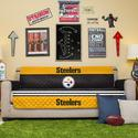 NFL Steelers Sofa Cover