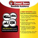 Good Sam Roadside Assistance Standard - 13 Months Enrollment + $15 Merchandise Certificate