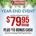 1 Year of Good Sam Roadside Assistance $79.95