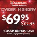 1 Year of Good Sam Roadside Assistance $69.95