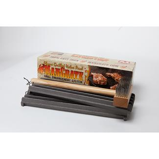 Mangrate 2 Grill Grates and Brush Pack