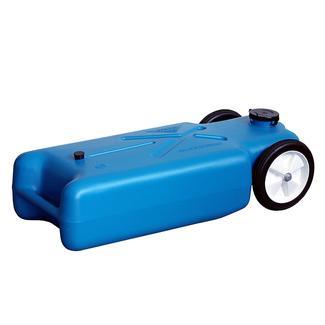 Barker Original Tote-Along Portable 2-Wheel Waste Tank, 22 Gallon