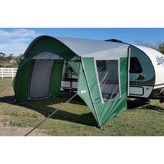 R-Pod Trailer Side Tent, Green