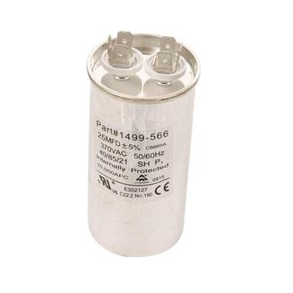 Capacitor, Fan/Run (25 Mfd, 370 VAC, 50-60 Hz)