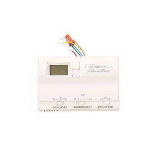 Thermostat, Digital, Heat/Cool - White