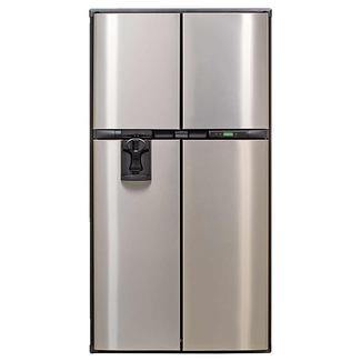 Norcold PolarMax Refrigerator Model 2118IMSSD with Stainless Steel Doors, Ice Maker and Water Dispenser