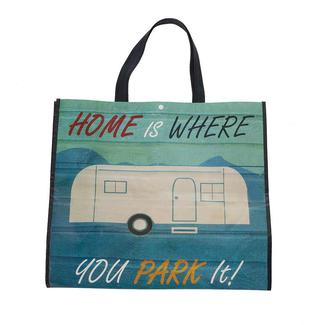 Retro Park It Shopping Bag