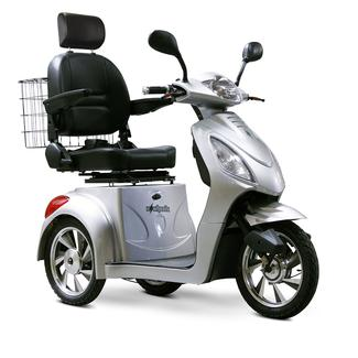 3-Wheel Scooter, Silver
