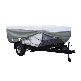 """PolyPRO 3 Folding Camping Trailer Cover, Fits up to 8'6"""", Gray"""