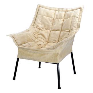 Milano Metal Chair, Beige
