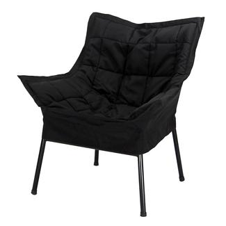 Milano Metal Chair, Black