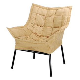 Milano Metal Chair, Tan