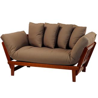 Casual Lounger Sofa Bed, Oak