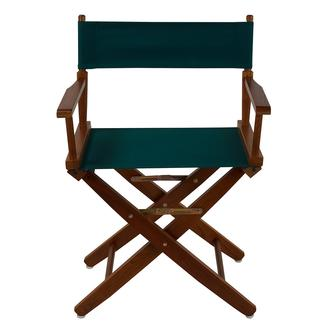 Extra-Wide Premium Director&#x27&#x3b;s Chair, 18&quot&#x3b; - Hunter Green