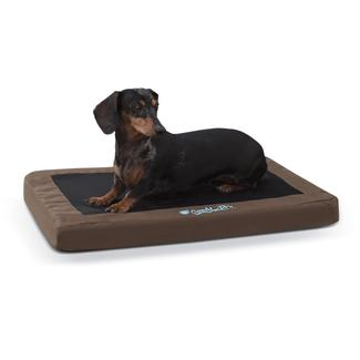 Comfy N&#x27&#x3b; Dry Indoor&#x2f&#x3b;Outdoor Pet Bed, Small, Chocolate