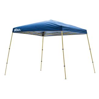 10x10 Quik Shade Solo LT 72 Instant Canopy - Blue&#x2f&#x3b;Gold