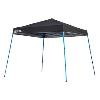 10x10 Quik Shade Solo LT 50 Instant Canopy - Charcoal/Blue  sc 1 st  C&ing World & 10x10 Quik Shade Solo LT 50 Instant Canopy - Charcoal/Blue - Bravo ...