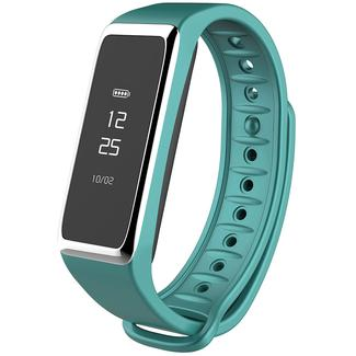 Activity Tracker Watch with Touchscreen and Bluetooth, Turquoise&#x2f&#x3b;Silver