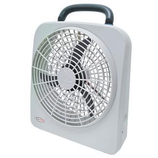 Indoor/Outdoor Dual Power Fan, 12 Volt