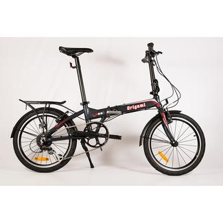 Origami Crane 8 Bike, Dark Gray Metallic