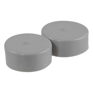 CURT Wheel Bearing Protector Covers, Set of 2, 2.32&quot&#x3b; hub diameter