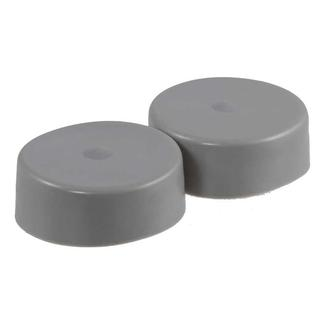 "CURT Wheel Bearing Protector Covers, Set of 2, 2.44"" hub diameter"