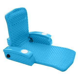 Super Soft Adjustable Recliner, Marina Blue