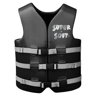 Super Soft Adult Life Vest, Small, Black