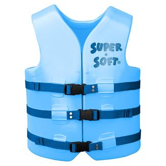 Super Soft Adult Life Vest, Medium, Marina Blue