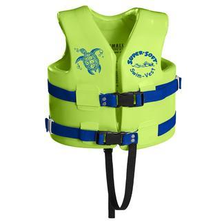 Super Soft Child Life Vest, Small, Kool Lime Green