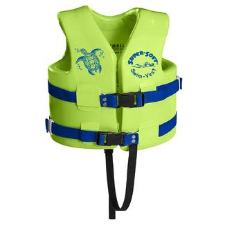 Super Soft Child Life Vest, X-Small, Kool Lime Green