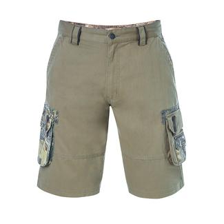 Realtree Men's Twill Cargo Short, Covert Green, 44x32