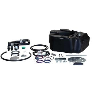 Titan Spare Tire Auxiliary Fuel System, For 2001-2010 GM 2500 & 3500 Pickups with Duramax Engine