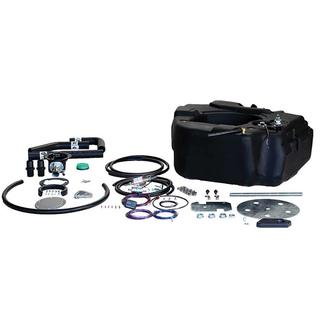 Titan Spare Tire Auxiliary Fuel System, For 2011-2016 GM 2500 &amp&#x3b; 3500 Pickups with Duramax Engine