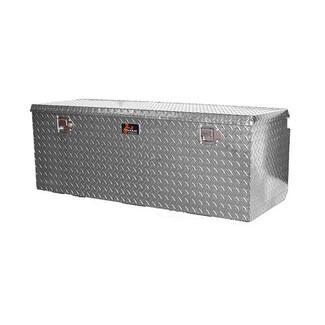 Large Locking Aluminum Diamond Plate Toolbox
