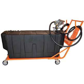Titan Fuel Caddy, 100 Gallon with 110 Volt Pump