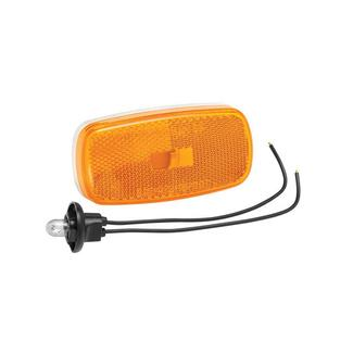 Clearance Light #59 Amber with White Base