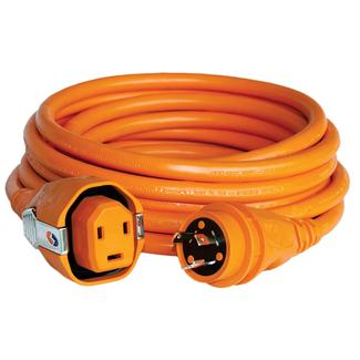 30 Amp 50' Dual Configuration Cordset with Twist-Type Connector