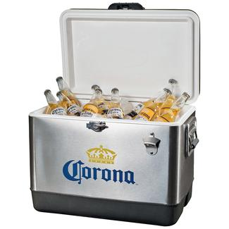 Corona Stainless Steel Ice Chest, 54 Qt.