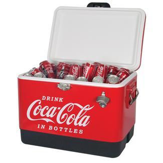Coca Cola Classic Ice Chest, 54 Qt.