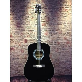 Perry Adult Dreadnought Acoustic Guitar Combo, Black