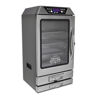 Smoke-Tronix 40&quot&#x3b; Electric Smoker with Bluetooth, Stainless Steel