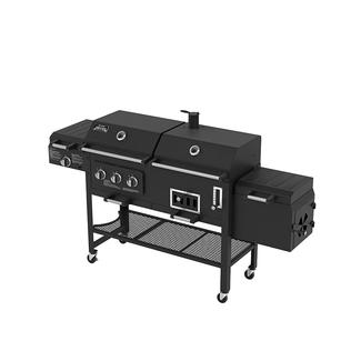 Smoke Hollow 8500 Combination LP Gas/Charcoal Grill and Smoker