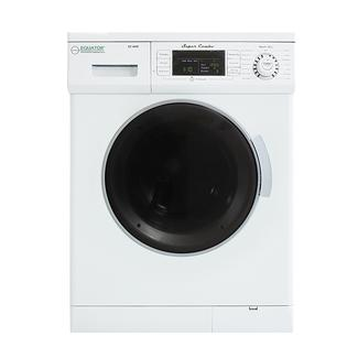 All-In-One Compact Combo Washer Dryer 1200 RPM spin Auto Water Level Sensor Dry Optional Venting/Condensing in White photo