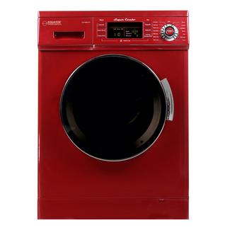 All-In-One Compact Combo Washer Dryer 1200 RPM spin Auto Water Level Sensor Dry Optional Venting/Condensing in Merlot photo