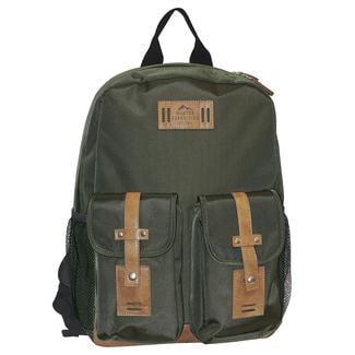 Buxton Trekker Backpack, Olive