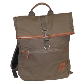Buxton Huntington II Fold-Over Backpack, Olive