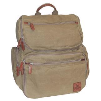 Buxton Huntington II Backpack, Tan